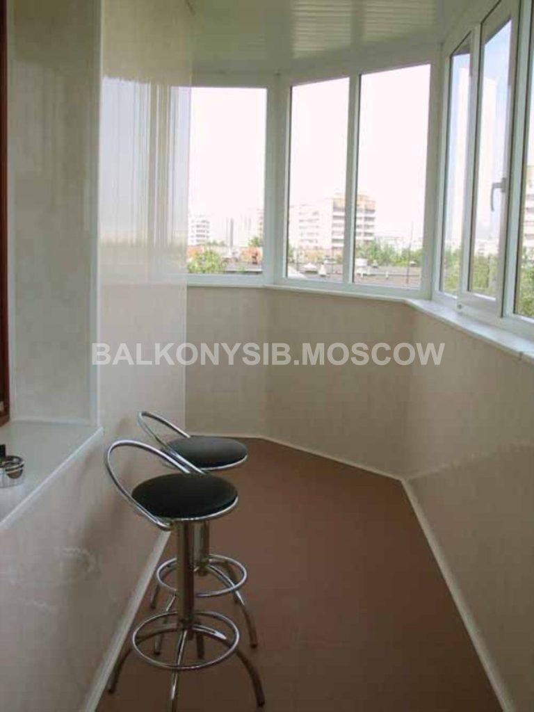 Утепление балкона в москве красивая отделка балкона и высоко.