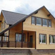 остекление дома деревянного