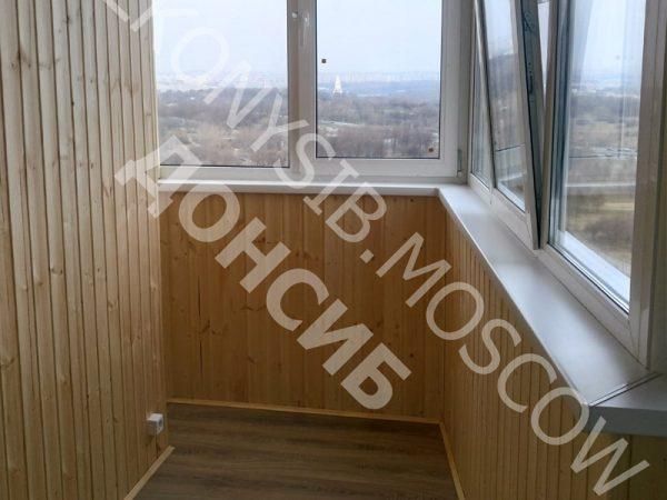 Отделка балкона Каблук