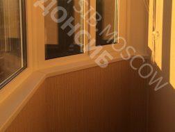 Отделка балкона Утюг