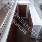 Отделка балкона 3м