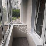 Пример отделки балкон И18