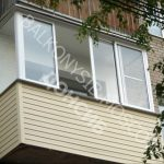 Внешняя отделка балкона и лоджии