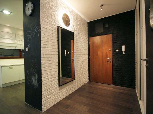 отделка коридора панелями донсиб
